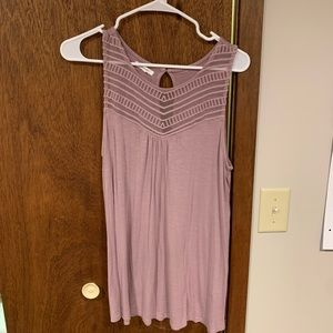 Large Lilac Maurices Tank Top